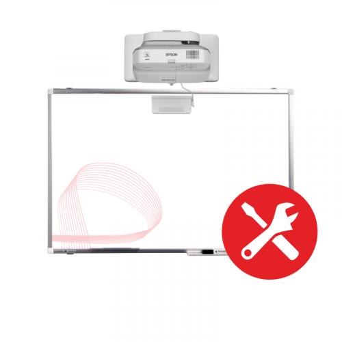 Montaz interaktivny projektor
