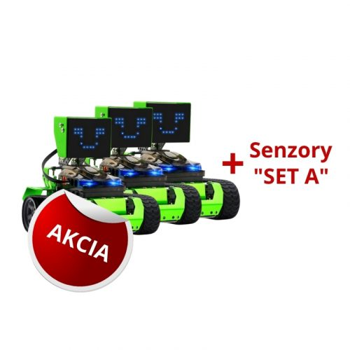 Programovatelny robot QOOPERS a senzory SET A AKCIA