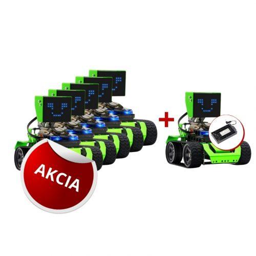 Programovatelny robot QOOPERS s bateriou AKCIA