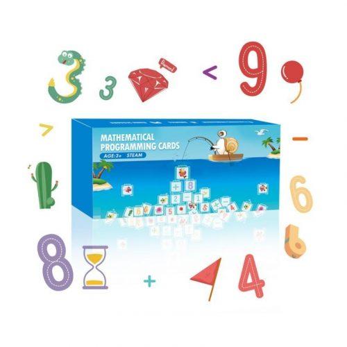 QOBO Matematicke puzzle karty